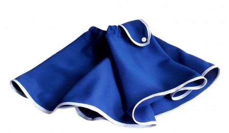 Poze Fusta closh albastru regal, fete 4-12 ani