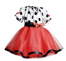 Miss Mignon- Set tutu Minnie Style, fete 3-10 ani