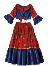 Miss Mignon - Costum etno-tiganesc, Gipsy Style fete 4-12 ani