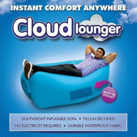 Надуваемо легло за плаж Cloud Lounger