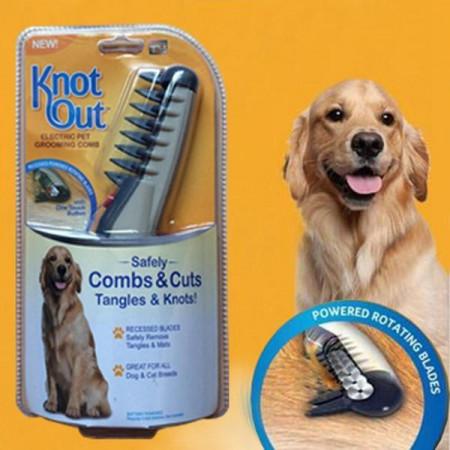 Електрически гребен за кучета и котки Knot Out