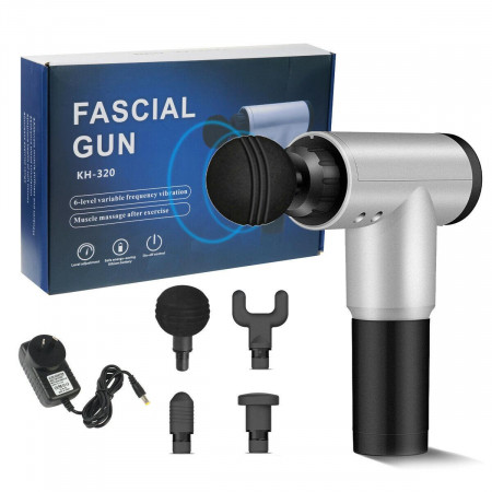 Мощен професионален масажор за тяло Fascial Gun