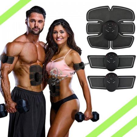 Уред за стягане на мускулите, отслабване и масаж Smart fitness 3в1