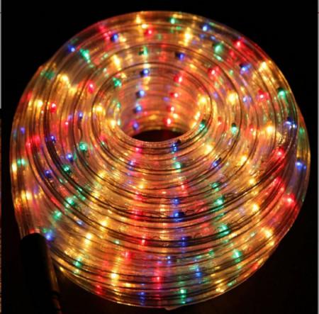 Светещо LED въже - 20м Multicolor