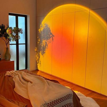 LED Лампа Залез с три ефекта