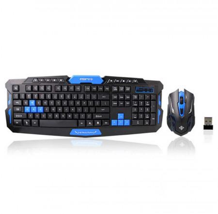 Геймърска мултимедийна клавиатура + wireless мишка