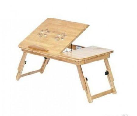 Дървена маса за лаптоп
