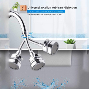 КОМПЛЕКТ Сгъваем накрайник за чешма Arbitary adjustment + Диспенсър за миене на съдове