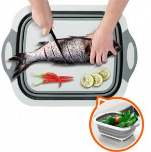 Мултифункционална сгаваема кухненска дъска