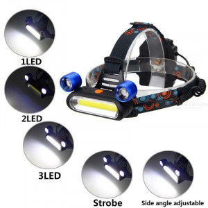 Челник с три фенера Headlight