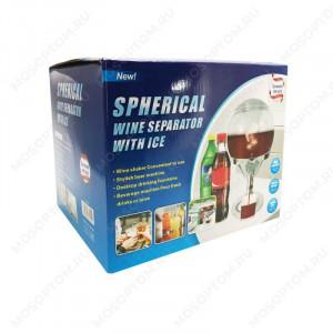 Диспенсър за бира с пълнител за лед Spherical Ice