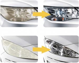 КОМПЛЕКТ реставрация на фарове Diy Headlight Restoration Kit + Комплект за полиране 8 части