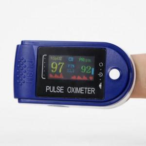 Комплект 2 броя на цената на 1 - Уред за измерване на пулс и кислород в кръвта - Пулсоксиметър ОLED