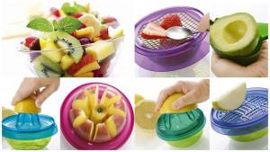 Мултифункционален уред за рязане на плодове 10в1