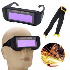 Заваръчни очила с LCD самозатъмняващ се дисплей с течни кристали