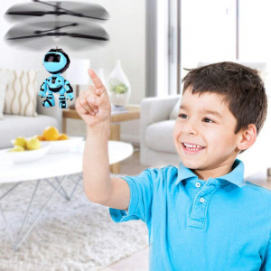 Интерактивен летящ робот със сензорно управление