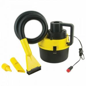 КОМПЛЕКТ Прахосмукачка за автомобил за сухо и мокро почистване + Органайзер за багажник на автомобил
