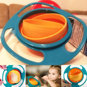 Неразливаща се детска купа за хранене Gyro Bowl