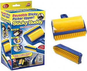 Ролка за обиране на косми Sticky buddy