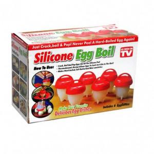 Форми за Варене на яйца без черупки Silicon Egg Boil