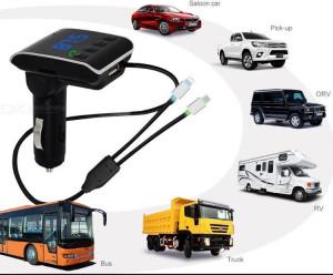 Bluetooth 2 в 1 трансмитер Q10