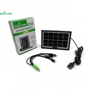 Преносимо зарядно със слънчев панел CCLAMP 8W