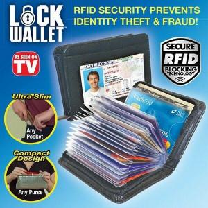 Защитено портмоне за кредитни карти Block Wallet