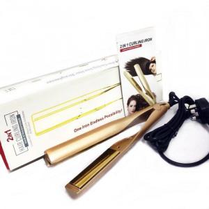 Преса за изправяне и къдрене на коса Iron Pro 2в1
