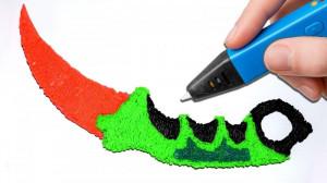 3D писалка за рисуване