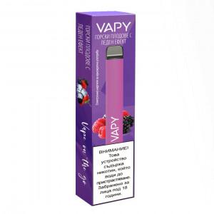Електронно наргиле VAPY с никотин 500 ароматни дръпки