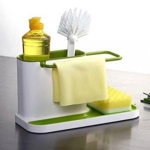 Мултифункционален органайзер 3в1 за мивка