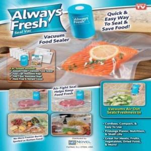 Вакуумен уред за запечатване на храна Always Fresh