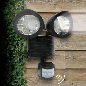 Двуглава соларна лампа