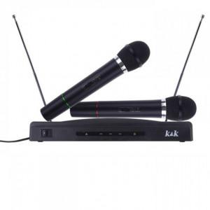 Караоке сет безжични микрофони