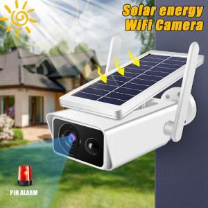Охранителна камера със соларен панел