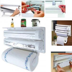 Поставка за фолио и кухненска хартия Tripple Paper