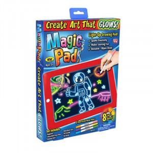 Таблет за скициране на неонови рисунки Magic Sketch Pad