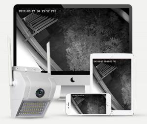 Wifi Камера за видеонаблюдение със сензор за движение V380