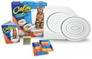 Комплект за обучение на котешки тоалетни навици CitiKitty