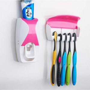 Стилен автоматичен дозатор за паста за зъби