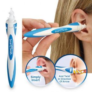 Уред за почистване на уши Smart Swab