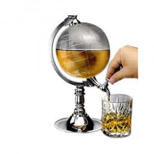 Диспенсър за напитки с формата на глобус