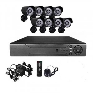Комплект за видеонаблюдение - 4 канален DVR / 8 канален DVR