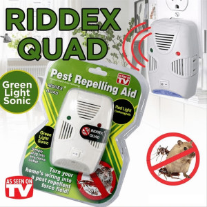 Ултразвуков уред против вредители Rioex Quad