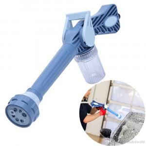 КОМПЛЕКТ Пистолет за водна струя Ez Jet Water Cannon + Разтегателен градински маркуч 30 метра с пистолет за поливане със седем функции.