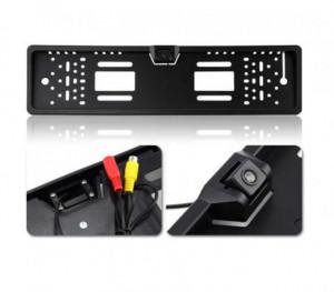 Поставка за регистрационен номер с камера за задно виждане