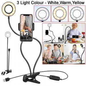 LED ринг с гъвкаво рамо Professional Live Stream