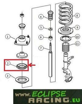 Cuscinetti / Ralle sterzo rinforzati Peugeot Sport GR.N - Saxo immagini
