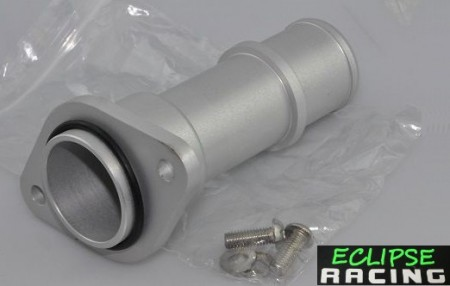 Flangia raccordo acqua posteriore in alluminio 106 1.6 16v (SENZA riscaldamento abitacolo) immagini