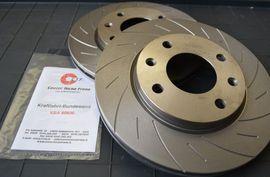 Dischi freno sportivi CTF 266/283/302mm, lisci GR.N o baffati/forati immagini